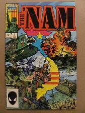 The 'Nam #1 Marvel Comics 1986 Series 9.2 Near Mint-