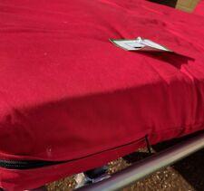 Red Double Futon mattress 12cm sofa Cushion Red 135 replacement mattress
