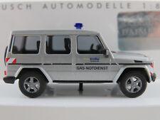 """Busch 51414 Mercedes-Benz G-Klasse (1990) """"EnBW Gas-Notdienst"""" 1:87/H0 NEU/OVP"""