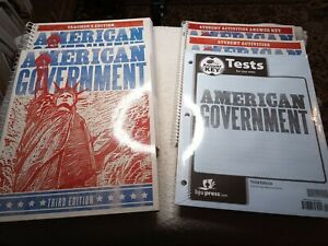 BJU American Government Student 3rd Ed Homeschool Paperback Complete Set NEW