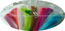 10 Colors Assortment, 10 Packs Synthetic Hair, Super Hair, Fibre, Fly, Jig, Lure