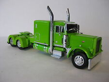 Peterbilt Flattop Model Tractor 1/64th Scale Lime w Lime Frame Dcp #33514