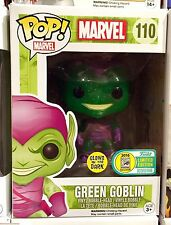 Funko Pop Marvel! Green Goblin w/Glider SDCC Exclusive(Glow in the Dark&Glitter)