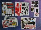 Star Wars REPRODUCTION STICKERS LOT KENNER ~ MILLENNIUM FALCON Slave 1 X-Wing