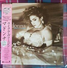 MADONNA 'Like a Virgin' Japan LP, OBI & Inserts