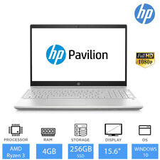 "HP Pavilion 15-cw1001na 15.6"" Full HD Laptop AMD Ryzen 3 3300U 4GB RAM 256GB SSD"