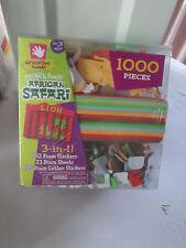 1000 pcs, Creative Hands Smart Foam & Stickers African Safari Kids Crafts ,New