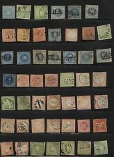 Peru nice lot of imperforate stamps unused and used Kl0924