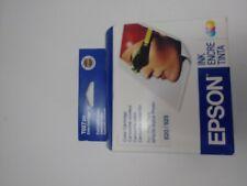 Genuine Epson Ink Stylus Photo 820 820u 925 T027 201 Color Cartridge Expired