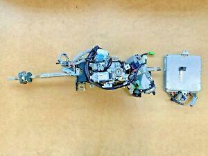 2007 2008 Acura RL Steering Wheel Column w/ Key / ECU Module 37820RJAA01 OEM