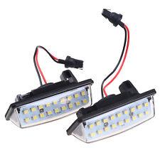 12V White 18 LED Car License Plate Light Lamps For Nissan Altima Maxima Murano