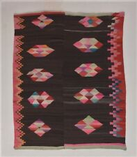 EXTRAORDINARY BEAUTIFUL INDIAN TAPESTRY BLANKET Antique Andes Textile TM7595