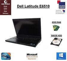 Dell Latitude E6510 Intel Core i5 M560 2.67GHz 8GB 320GB ESATA DVD Nvidia Win 10