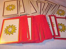 Vintage Borden Elsie Cow Playing Cards 2 Complete Decks Brown Bigelow Redi -Slip