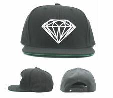 Diamond Supply Company New Signature Logo Black White Era Snapback Hat Cap