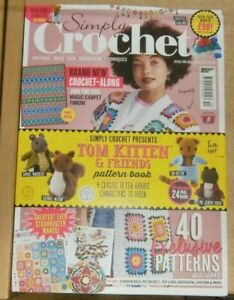 Simply Crochet Magazine #110 2021 40 exclusive patterns + Amigurumi toys booklet