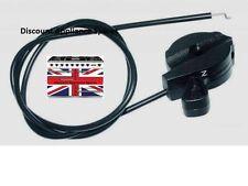 Genuine Flymo essence tondeuse L47 L470 Throttle/choke cable & Levier Kit 32fy329