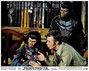 Escape From Planet Of The Apes US Lobby Card Roddy McDowall Ricardo Montalban