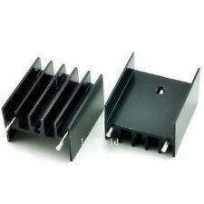 50PCS Aluminum Heatsink Heat Sink Cooling 25*23*16MM for TO-220 Transistor Black