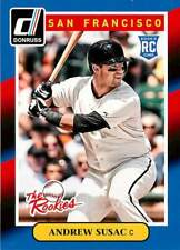 Andrew Susac 95 2014 Donruss The Rookies Rookie RC