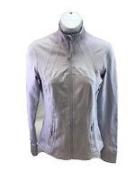 Lululemon Women's Light Blue/Cool Breeze Long Sleeve Define Jacket 6/S