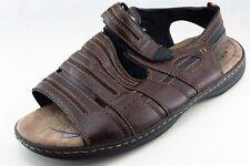 Nunn Bush Sport Sandals Brown Synthetic Men Shoes Size 13 Medium (D, M)