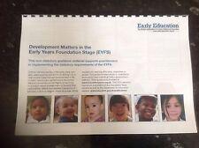 development matters EYFS