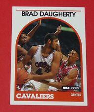 # 50 BRAD DAUGHERTY CLEVELAND CAVALIERS 1989 NBA HOOPS BASKETBALL CARD