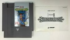 CastleVania II 2: Simon's Quest (Nintendo NES, 1987) Tested - with Manual