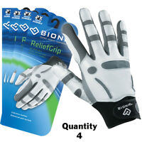 4 x Bionic Mens Arthritic ReliefGrip Golf Glove - Right Hand - Leather $29.95 ea