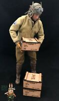 1/6 scale crate box WWII US .50 Cal (Set of 3) for 1/6 diorama and vehicle