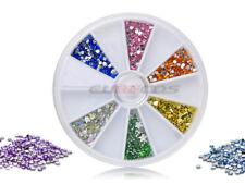 Strasssteine Rondell Nailart Drehdisplay leer für Glitter Perlen Fimo Sticker