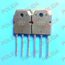 1pair Transistor 2SJ352/2SK2221 2SJ352-E/2SK2221-E J352/K2221 100% Genuine & New