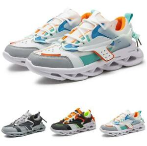 Mens Outdoor Running Sports Gym Walking Non-slip Casual Fashion Sneakers Shoes