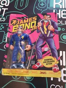 Vintage Hasbro James Bond Jr Jaws Figure 1990