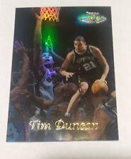 1998-99 Topps Gold Label Black Label Spurs #GL7 Tim Duncan Basketball Card