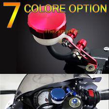 Universal 7 Color Front Brake Oil Tank Fluid Reservoir For CBR 600 900 1000 RR