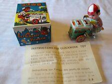 Vintage Clockwork Ice Cream Vender, Vendor, Tin Wind Up Toy, Nib, China, Ms-405