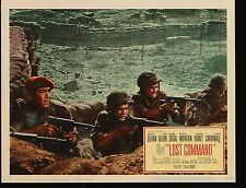 LOST COMMAND Anthony Quinn ORIG WW2 1966 MOVIE LOBBY CARD 11 x 14 photo