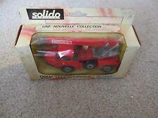Solido Toner Gam Grue Telescopique Richier Wrecker Truck #353 MIB