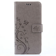 For Samsung Galaxy PU Leather Magnetic Flip Stand Card Slot Wallet Case Cover