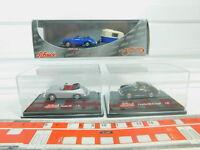 BO884-0, 5 #3x Schuco H0 / 1:87 Porsche 356:21755 (with Caravan) etc. , Nip