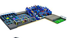15,000 sqft Commercial Turnkey Trampoline Park Soft Playground Climb We Finance