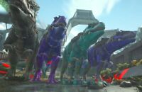 Ark Survival PS4 PVE GIGA full grown. 945 at hatch. NOT CLONE