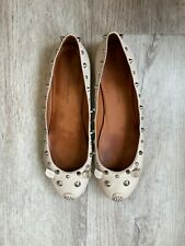 Marc by Marc Jacobs Mouse Leather Ballet Flats with Rivets 41/11 Size