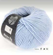 11€/100g  Lana Grossa - Cool Wool Big 50 g  Farbe  604 hellblau