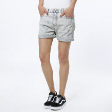 9385e94f2a32 Shorts Jeans Pantaloncino Donna Pantaloni Corti Strappi Bermuda Selma  Junkyard S