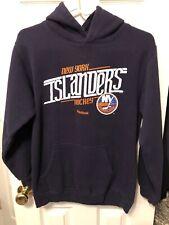 New York Islanders Reebok Youth Hoodie Sweatshirt Size Large