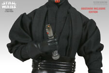 "1/6 Sideshow Star wars 12"" Figure Sith Lord Darth Maul exclusive saber hilt"