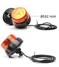 LED Warnleuchte Blitzer Orange Rundumleuchte Rohrstutzen 12/24V Nr 852.6